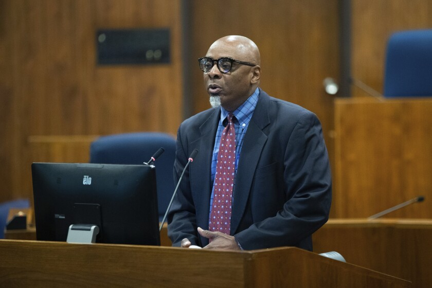 Special Prosecutor Fredrick D. Franklin in Omaha Wednesday