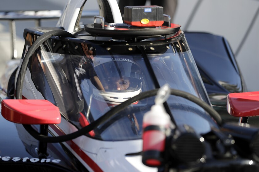 IndyCar Aeroscreen Test Auto Racing