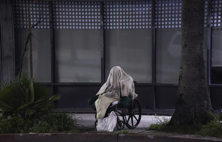 APTOPIX Virus Outbreak California Homeless