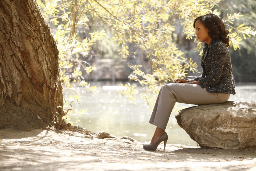 "Kerry Washington plays Olivia Pope in ABC's ""Scandal."""