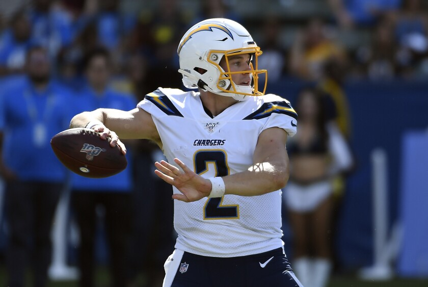 Chargers third-string quarterback Easton Stick isn't quite sure what role he will have one, two or five years from now, but he's doing his best to be prepared for it.