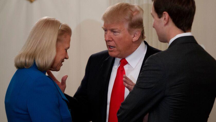 Ginny Rometty, Donald Trump, Jared Kushner