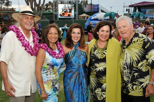Bill and Evelyn Lamden, Sheryl Sutton, Susan and Doug Lowrance