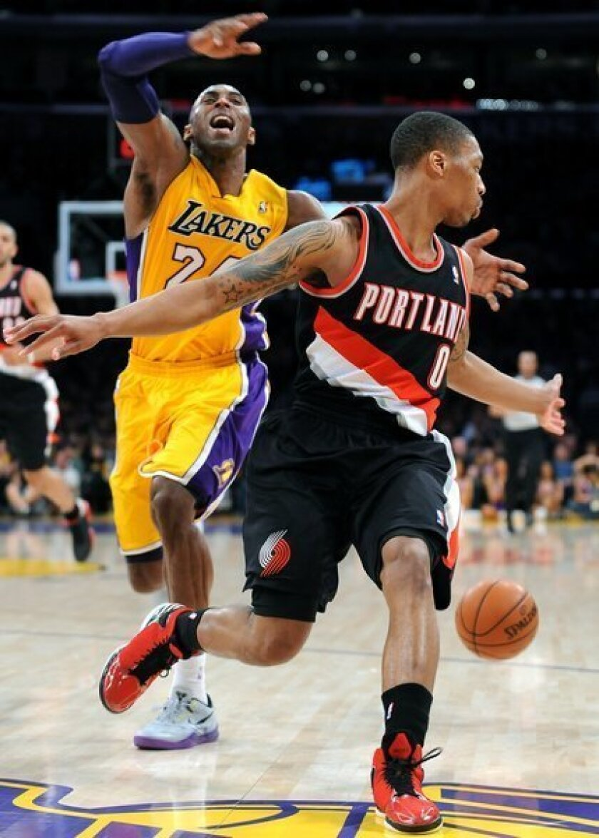 Preview: Lakers at Portland Trail Blazers