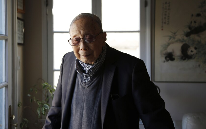 Author C.Y. Lee in his home office in Little Ethiopia in Los Angeles.