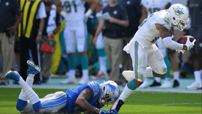 Detroit Lions v Miami Dolphins