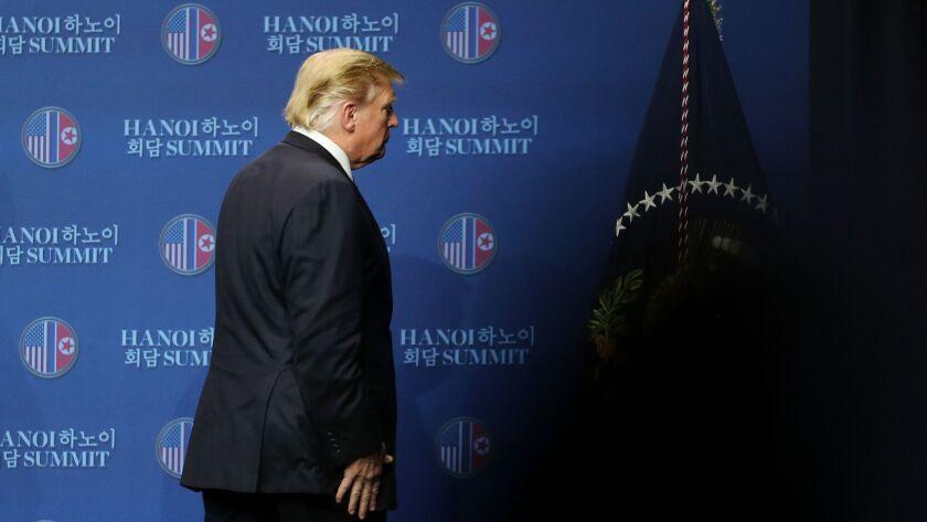 US-North Korea Summit in Hanoi, Viet Nam - 28 Feb 2019