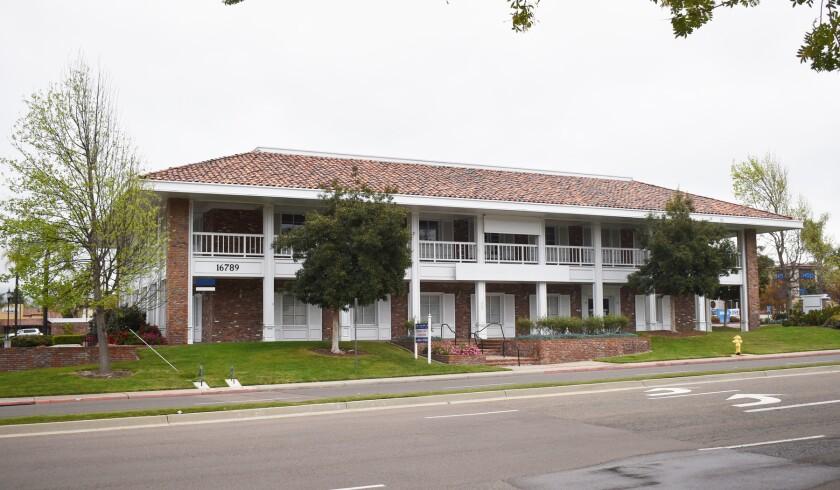 March and Ash want to open a marijuana outlet at 16789 Bernardo Center Drive in Rancho Bernardo.