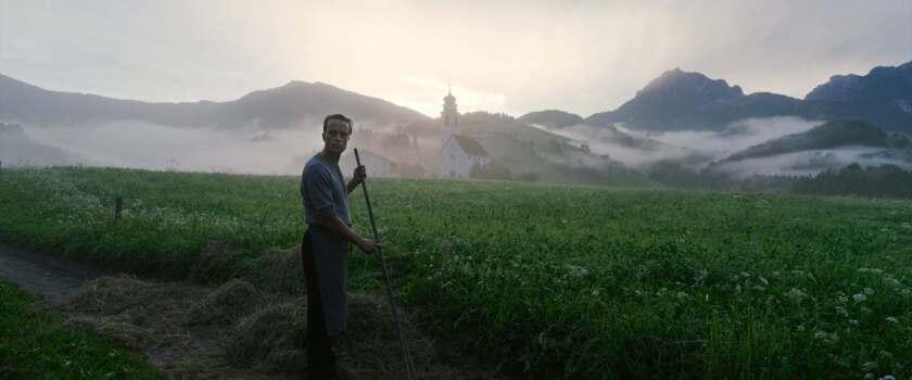 """August Diehl in """"A Hidden Life."""""""