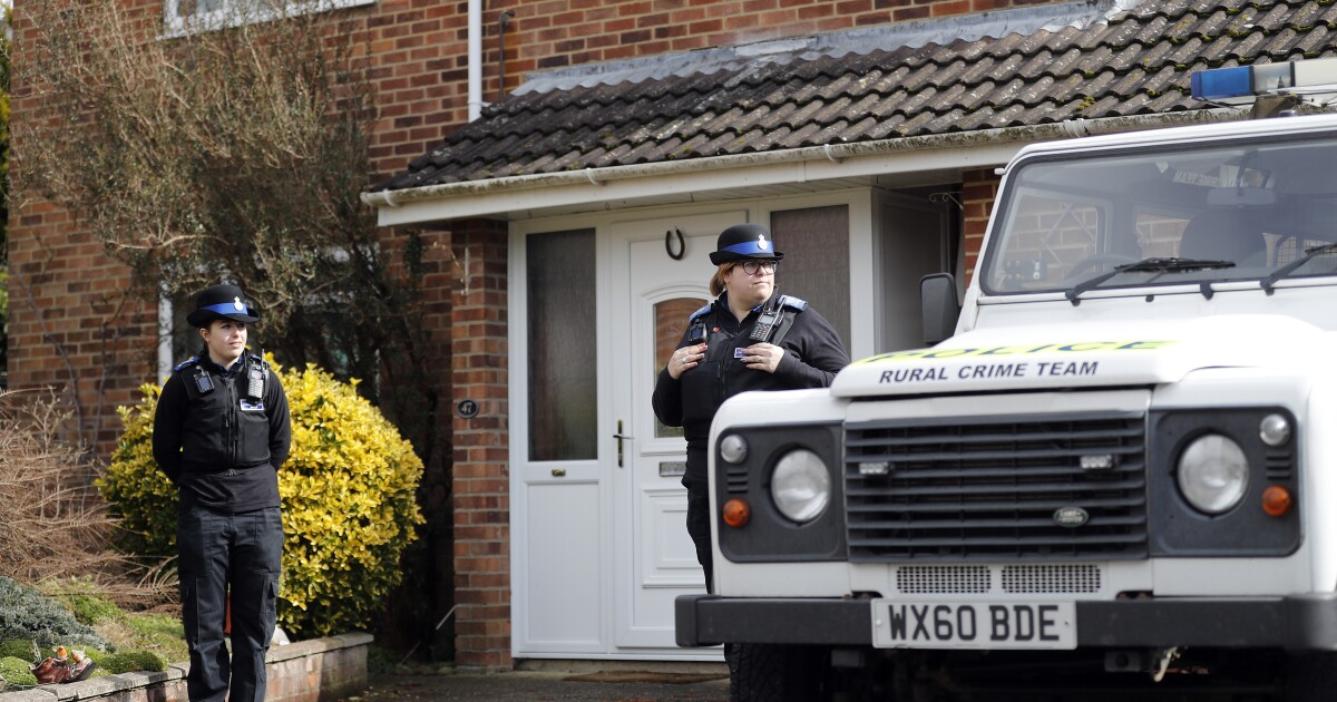 U.K. police charge 3rd Russian in poisoning of ex-spy