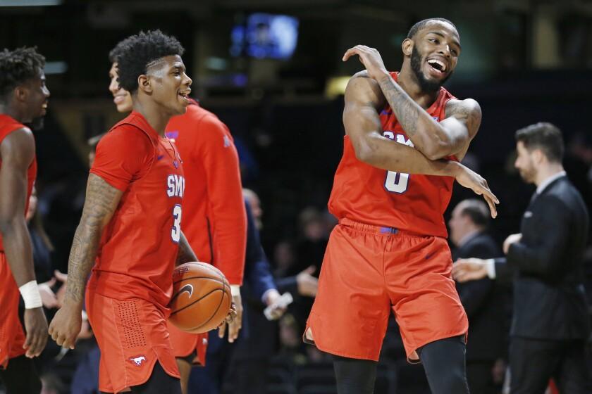 SMU Vanderbilt Basketball