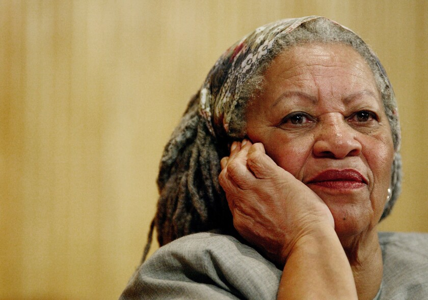 Author Toni Morrison's works are among the most banned and challenged in America.