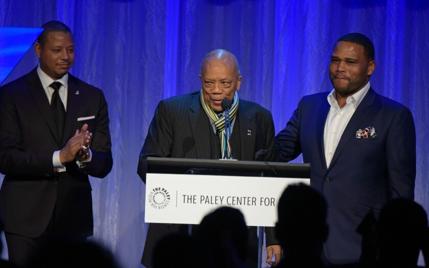 Paley Center honors Quincy Jones, Diahann Carroll with black television tribute