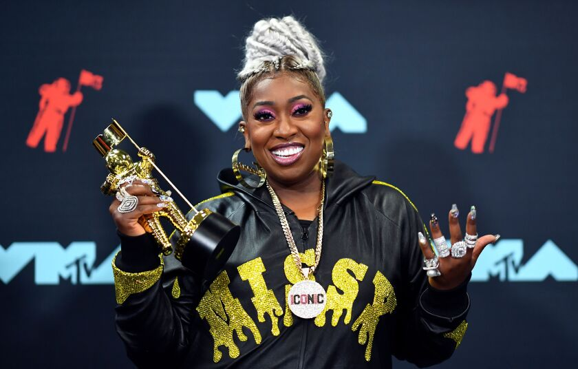 Missy Elliott at the 2019 MTV VMAs