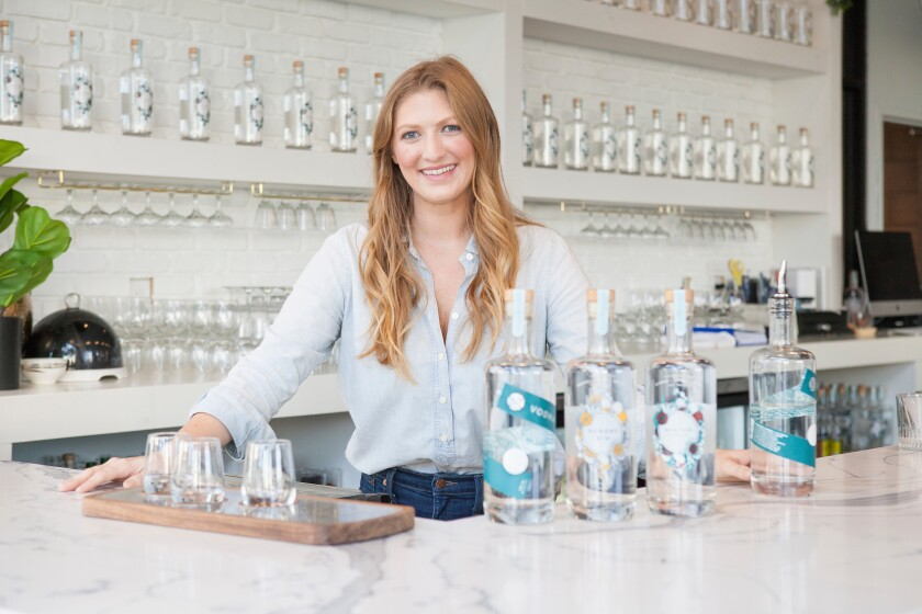 You & Yours Distilling Co.'s founder and owner, Laura Johnson.