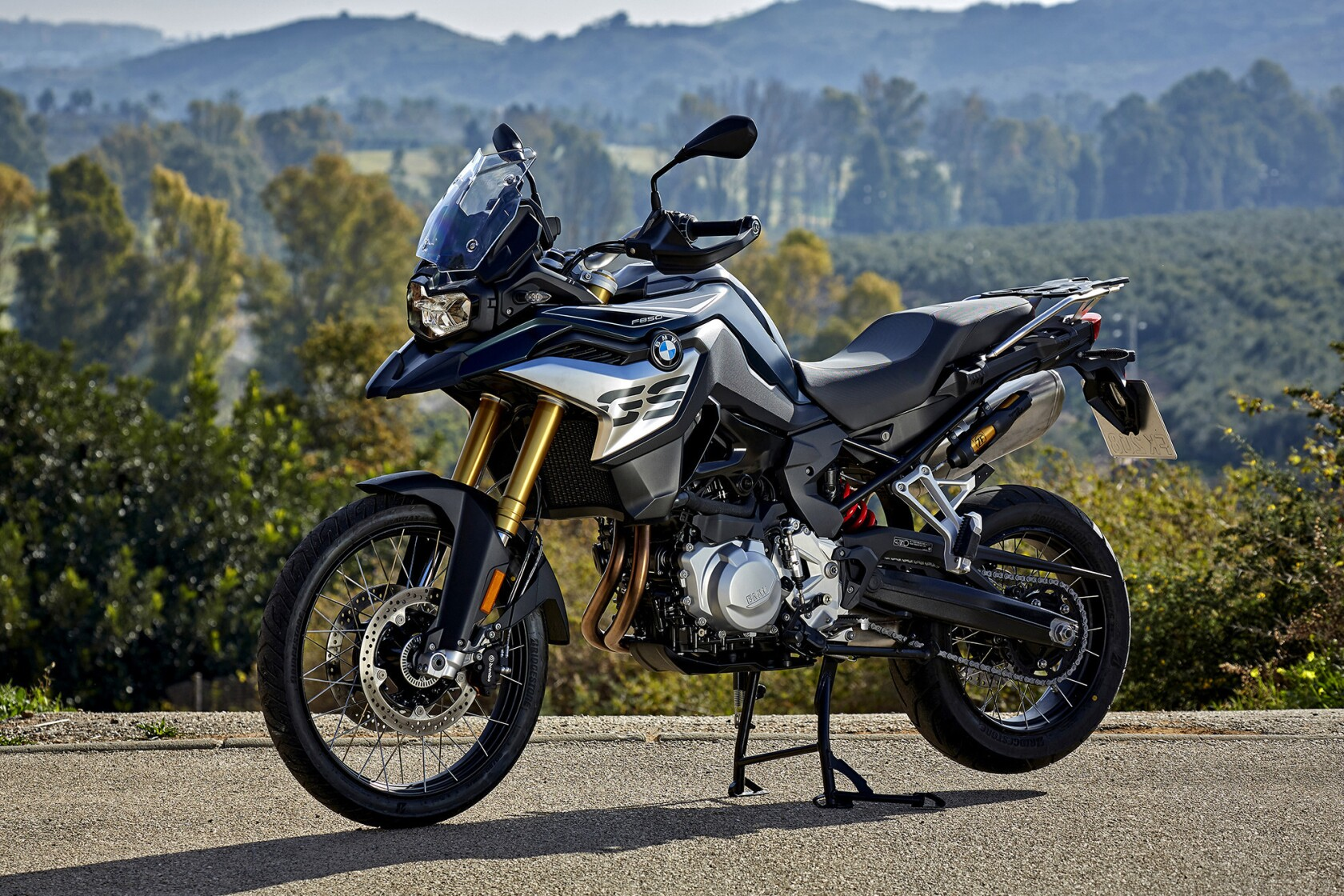 New BMW and KTM motorcycles are very different, but meet at
