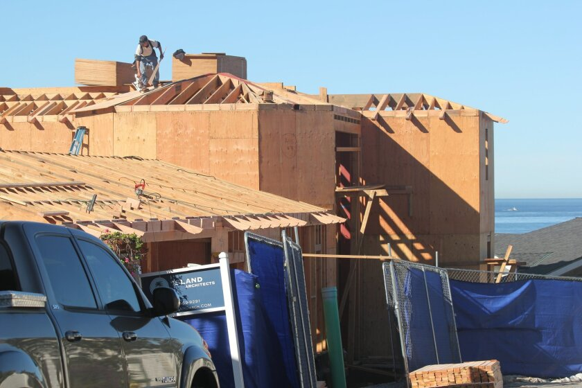 itt and Ann Romney's replacement home on Dunemere Drive (as seen last week under construction) should be complete by year's end, although the couple might not keep it afterall, La Jolla Light has learned.