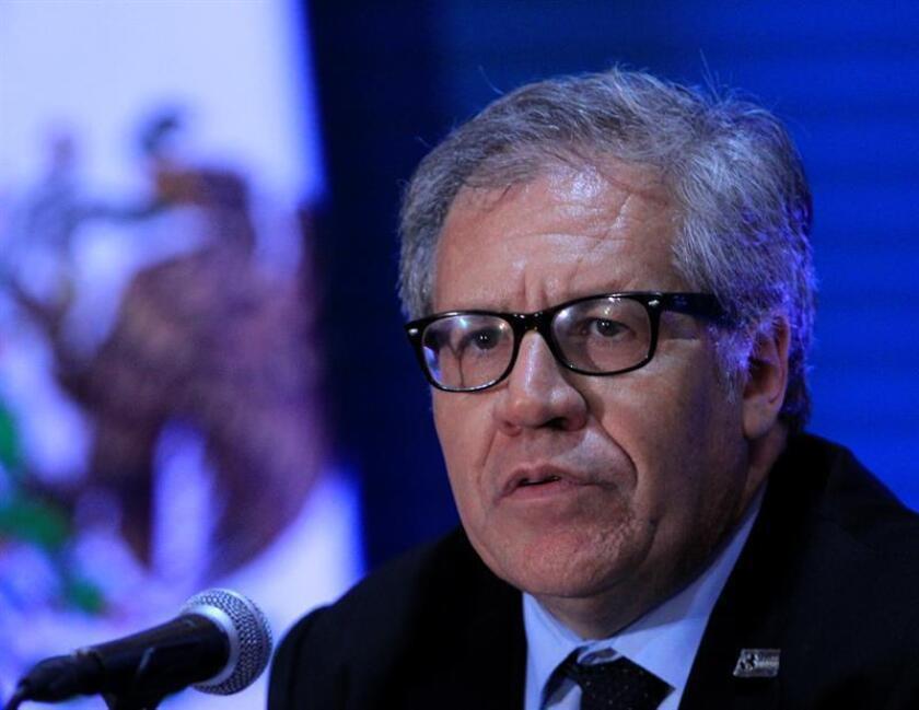 El secretario general de la OEA, Luis Almagro. EFE/Archivo