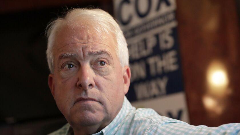 Republican gubernatorial candidate John Cox