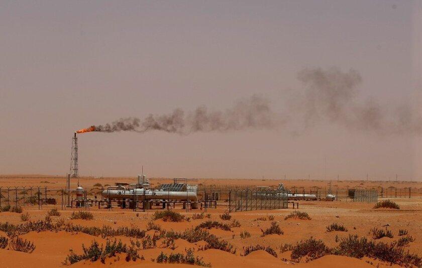 Saudi oil pump