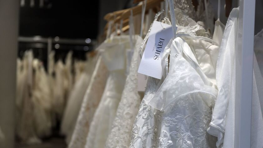 Wedding Retailer David's Bridals Files For Chapter 11 Bankruptcy Protection