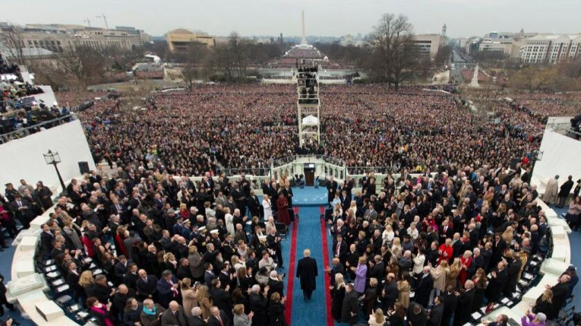 President Donald Trump inauguration