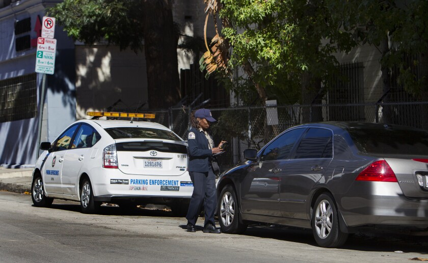 Editorial: Extend the three-day parking limit in L A  - Los Angeles