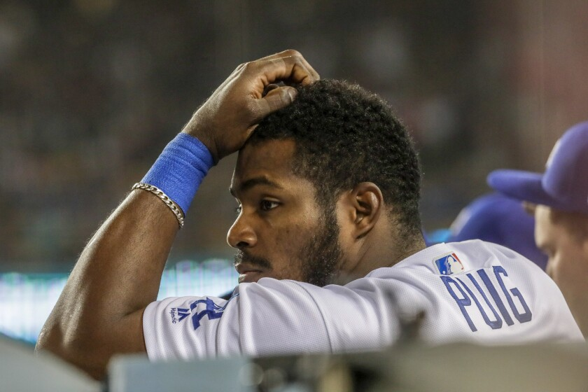 Yasiel Puig had to defect from Cuba to end up with the Dodgers.