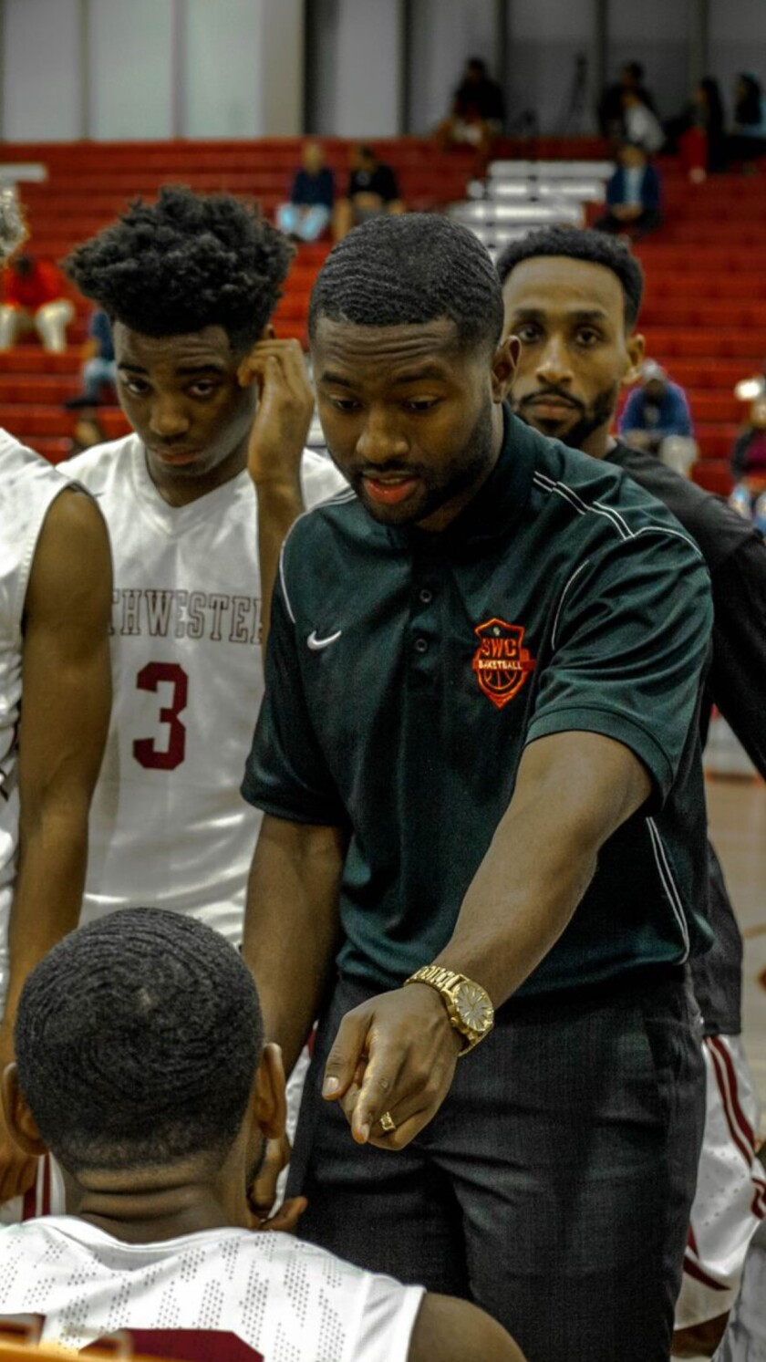 New Steele Canyon coach Aaron Douglas includes Southwestern College among his previous stops as an assistant coach.