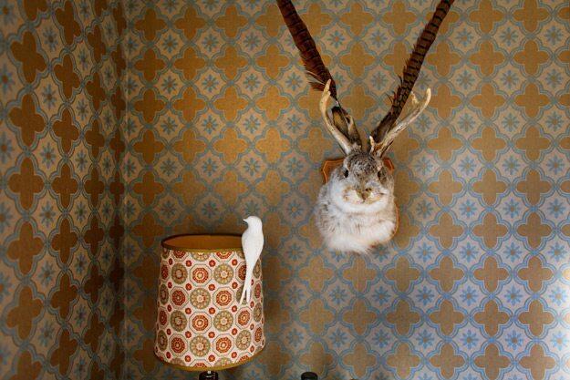 Wallpaper artist Alix Soubiran's L.A. home