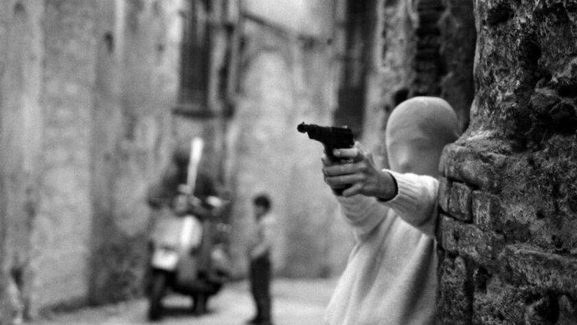 A still from <i>Shooting the Mafia</i> by Kim Longinotto, an official selection of the World Cinema