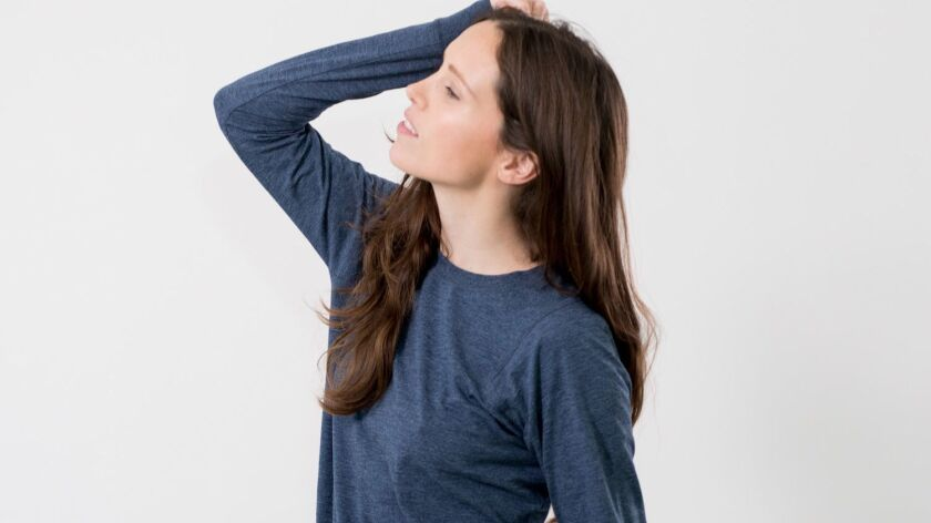 Sleepwear from Lunya is designed to absorb body heat, making for a more restful night's sleep.