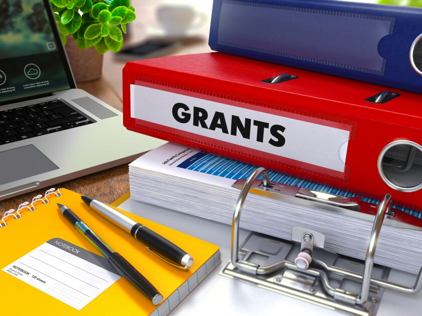 binders for grants