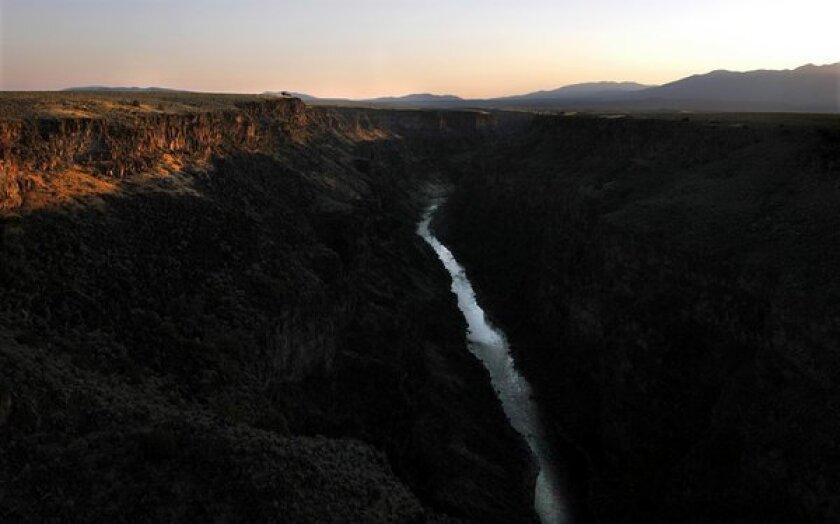 The Rio Grande near Rinconada, N.M. A New Mexico man who cleaned out part of an arroyo that feeds the river from time to time is suing the Army Corps of Engineers after being told he violated the Clean Water Act by not getting a permit.