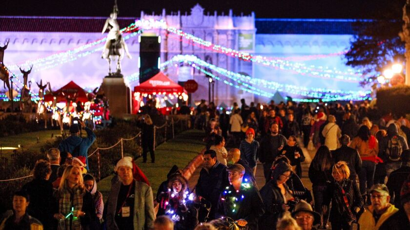 December Nights, Balboa Park's biggest party of the year.