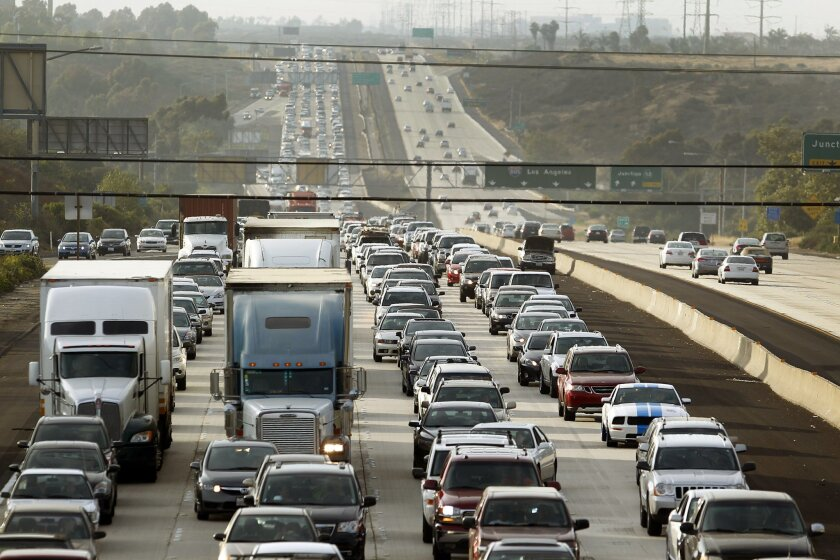 Traffic is one of the main challenges facing the San Diego region as it ramps up efforts to minimize greenhouse gas releases.