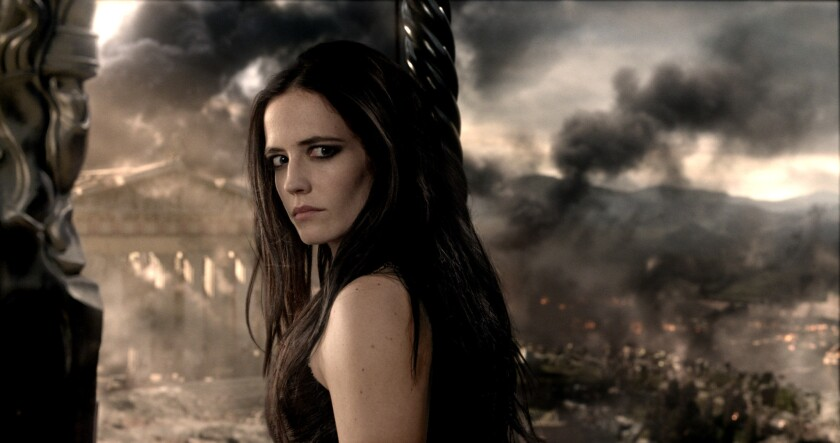 """Eva Green's work in """"300: Rise of an Empire"""" has been lauded by critics."""