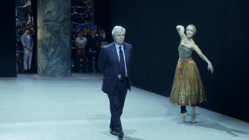 """Director Stephane Lissner in a scene from """"Paris Opera."""" Credit: Film Movement"""