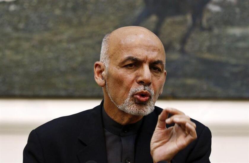 El presidente afgano, Ashraf Gani. EFE/Archivo