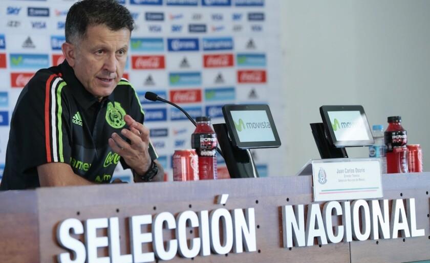 Juan Carlos Osorio, entrenador del Tri.