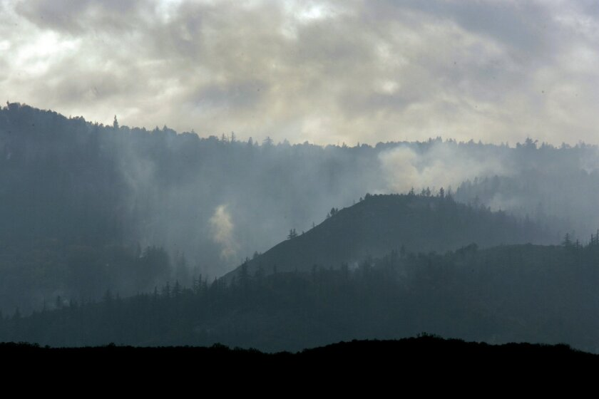 The Poomacha fire of 2007
