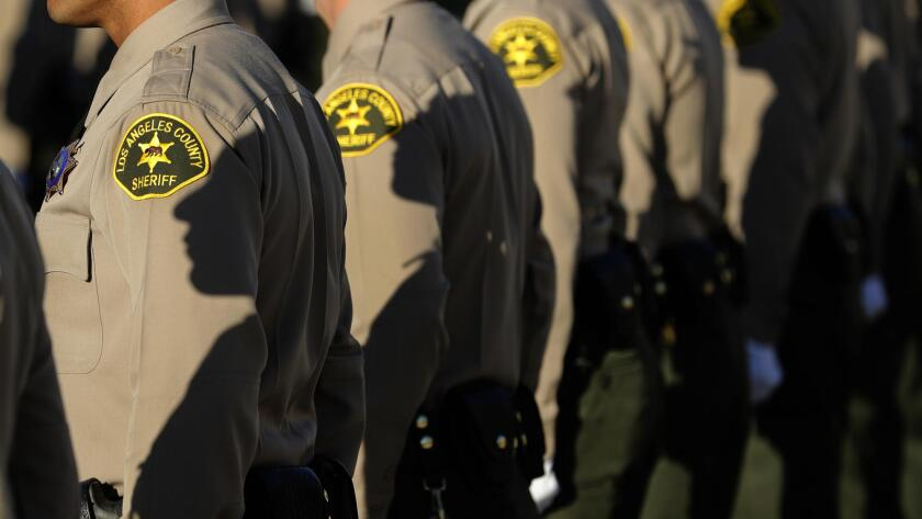 Los Angeles County sheriff's deputies