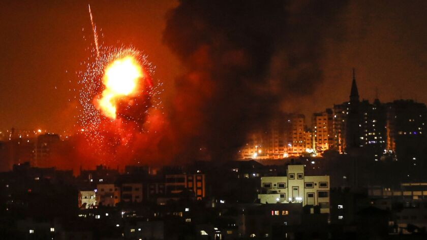 BESTPIX PALESTINIAN-ISRAEL-GAZA-UNREST