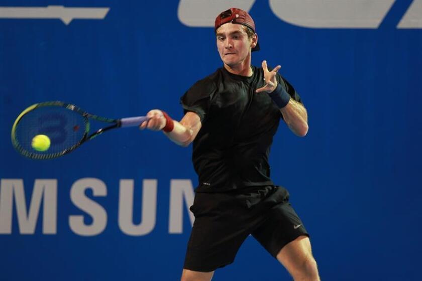 En la imagen, el tenista mexicano Luis Patiño . EFE/Archivo