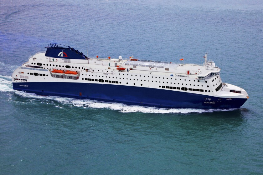 The Nova Star will connect Yarmouth, Nova Scotia, and Portland, Maine. The passenger ferry is to make its debut May 15.