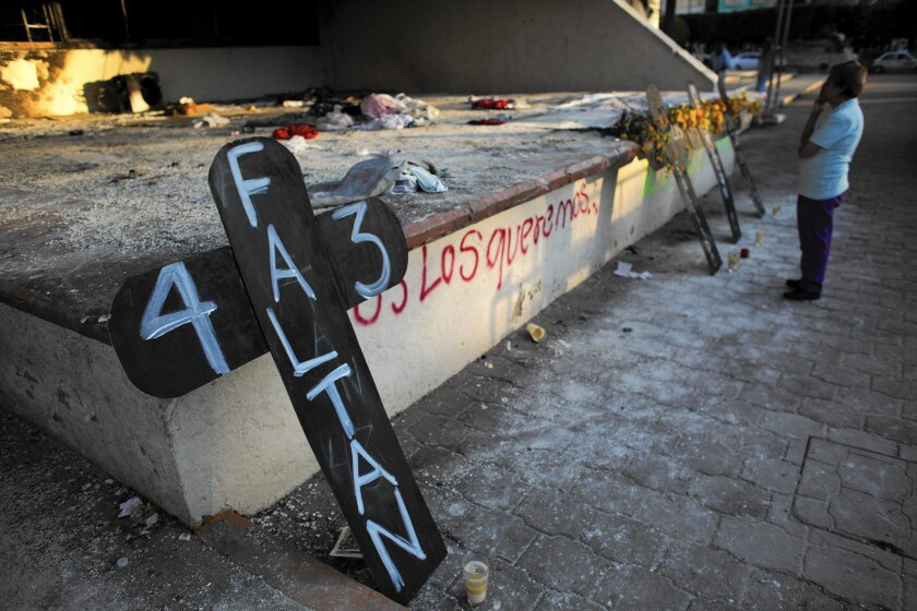 Students missing in Mexico