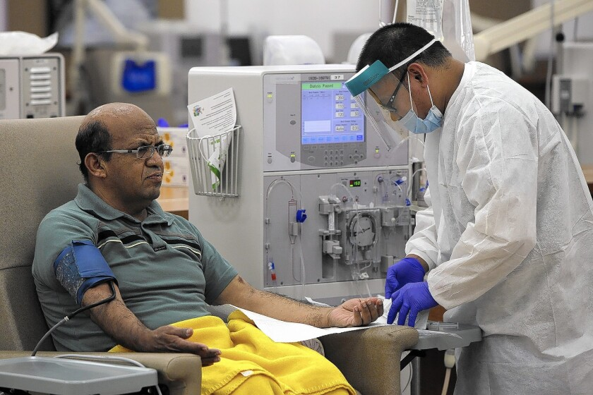 Patients face a shortage of home dialysis solution