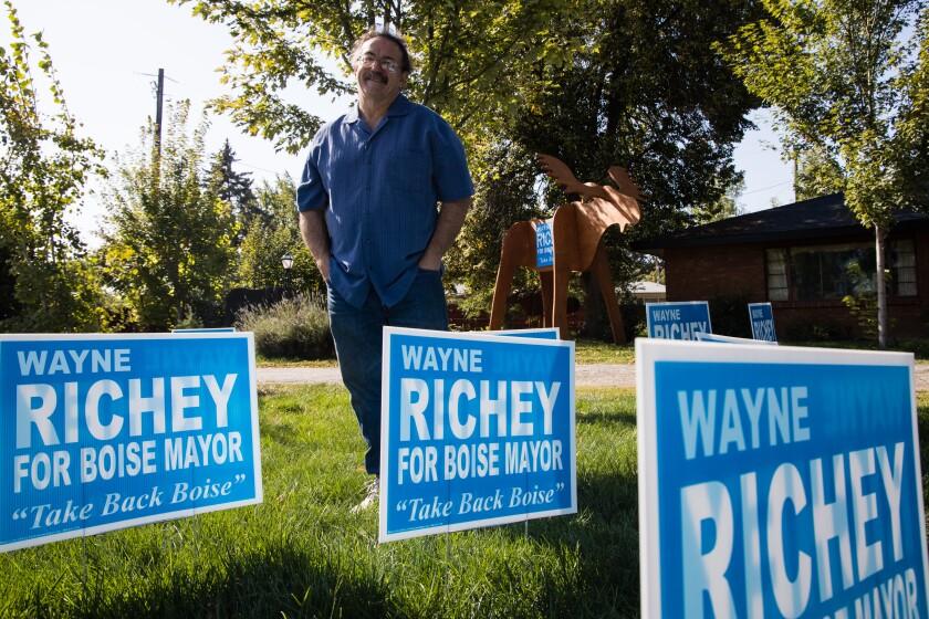 Boise mayoral candidate Wayne Richey
