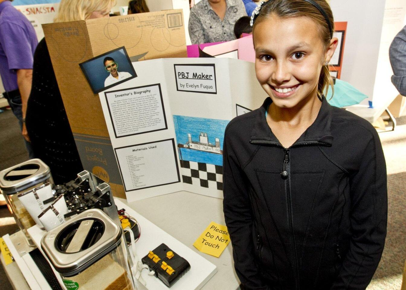 """PB&J Maker"" by Evelyn Fuqua, 4th grade Ocean Air School"