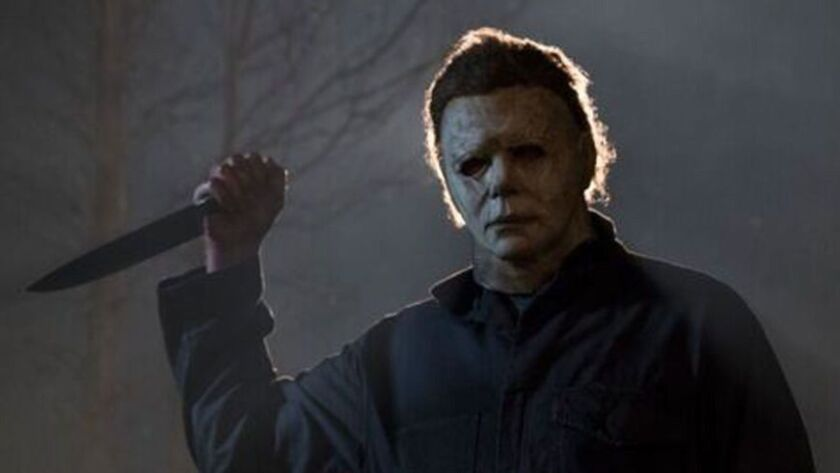 """A scene from """"Halloween."""""""